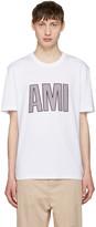 Ami Alexandre Mattiussi White Logo T-shirt