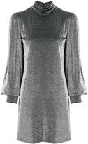 Plein Sud Jeans metallic fitted dress