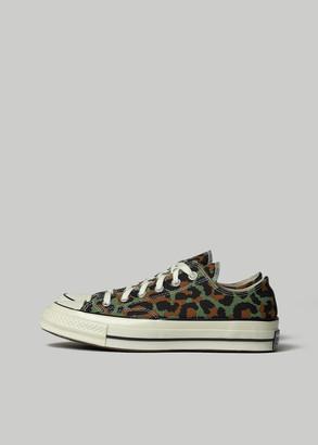 Converse Wacko Maria Chuck 70 Low Sneaker in Olive/Egret/Black