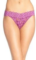 Hanky Panky Women's Cross Dyed Regular Rise Thong