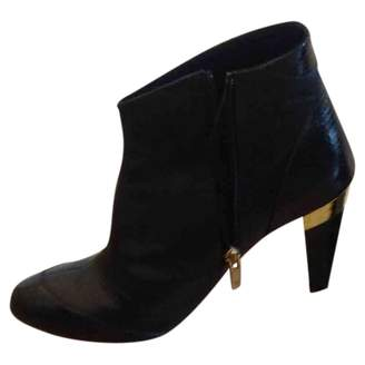 Gaspard Yurkievich Black Leather Ankle boots