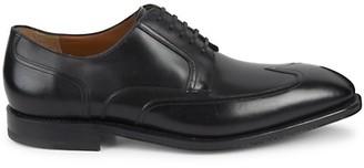 Salvatore Ferragamo Lucky Cap Toe Leather Oxford Shoes