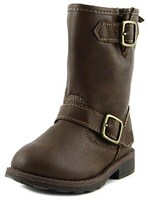 Carter's Aqion Toddler Round Toe Synthetic Brown Mid Calf Boot.