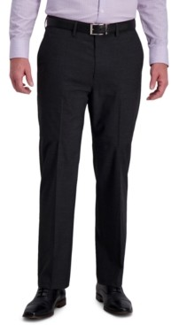 Haggar J.m. Men's Classic-Fit 4-Way Stretch Textured Grid Performance Dress Pants