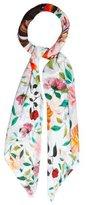 Mary Katrantzou Silk Floral Print Scarf