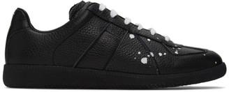 Maison Margiela Black Replica Pollock Sneakers