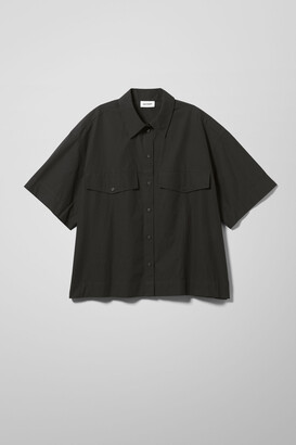 Weekday Shayla Shirt - Black