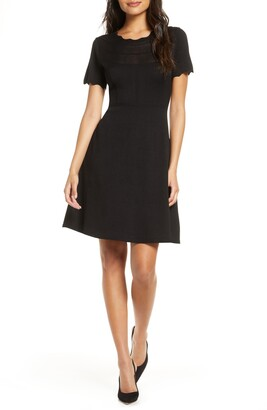 Julia Jordan Fit & Flare Sweater Dress