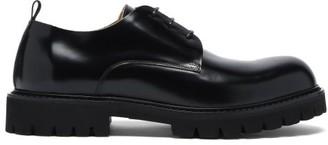 Paul Smith Brunel Commando-sole Leather Derby Shoes - Black