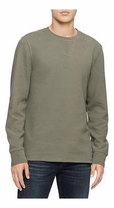 Calvin Klein Jeans Men's Men's Waffle Knit Pullover Shirt