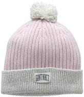 Gant Girl's Reflective Beanie Hat,(Manufacturer Size: 6-9Y)