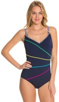 Sun Marin Sunmarin Flora Double Thin Strap One Piece 8121623