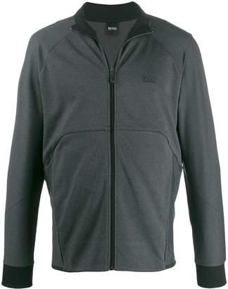 BOSS front zip sweater