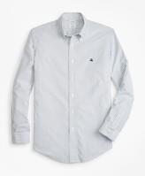 Brooks Brothers Non-Iron Regent Fit Oxford Stripe Sport Shirt