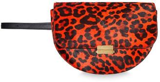 Wandler Annabel Small Convertible Leopard-print Calf Hair Belt Bag