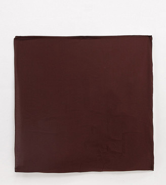 Verona chiffon maxi head scarf in chocolate