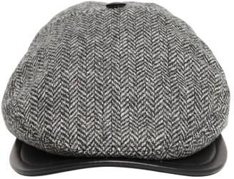 DSQUARED2 Wool Herringbone Flat Cap