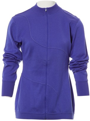 Montana Purple Wool Knitwear