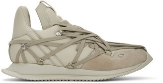 Rick Owens Off-White Maximal Runner Sneakers