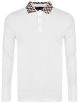 Aquascutum London Nathan Polo T Shirt White