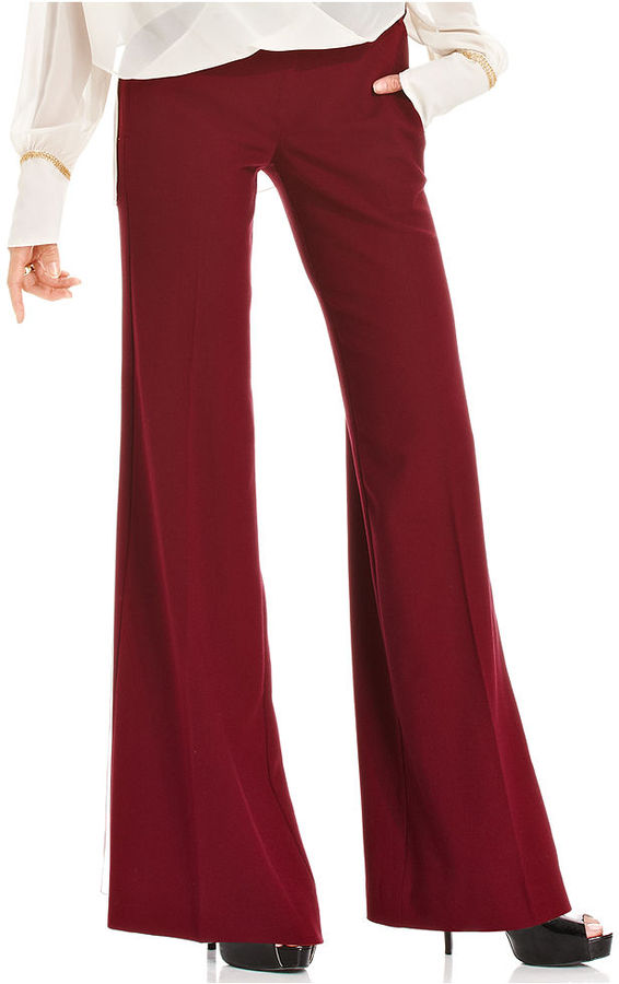 XOXO Juniors Pants, Bootuct-Leg High-Waisted Trousers