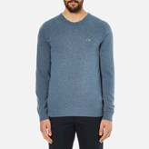 Lacoste Men's Crew Neck Sweatshirt Storm Chine