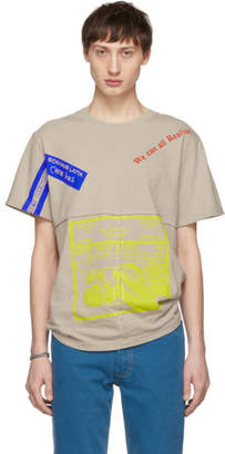 Eckhaus Latta Grey Keep That Date Lapped T-Shirt