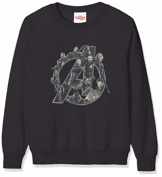 Marvel Girl's Infinity War Avengers Logo Sweatshirt