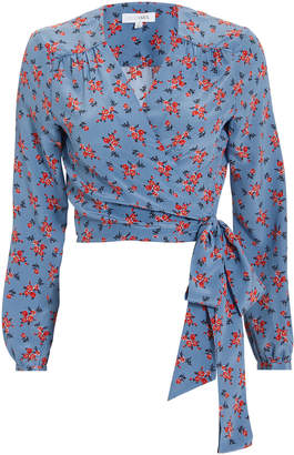Intermix Tansy Floral Wrap Top