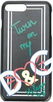 Dolce & Gabbana printed heart iPhone 7 Plus case