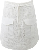 Marissa Webb Alvina Lace Mini Skirt