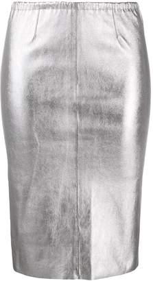 Zadig & Voltaire Zadig&Voltaire metallic pencil skirt