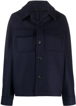Ami Flap Pockets Single-Breasted Jacket