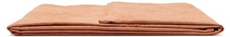 Seya - Vegetable-dyed Recycled French Linen Blanket - Tan