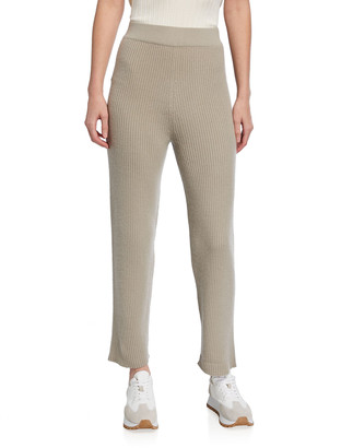 Sally LaPointe Ribbed Cashmere Pants