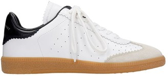 Isabel Marant Bryce Sneakers In White Leather