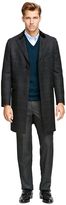 Brooks Brothers Saxxon Wool Chesterfield Overcoat