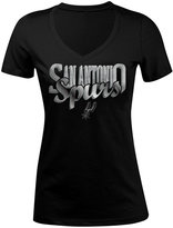 5th & Ocean Women's San Antonio Spurs Foil Jam T-Shirt