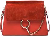 Chloé Medium Leather Faye Shoulder Bag