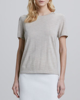 Theory Lulina Slub Merino Wool Top