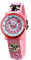 Baby Watch Montre ZAP Chats Girl`s Analogue Watch with Pink Dial Analogue Display - 3700230606146