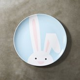 Crate & Barrel Easter Bunny Melamine Dinner Plate