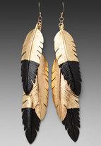CC Skye Dipped Feather Earrings