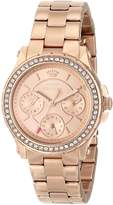 "Juicy Couture Women's 1901106 ""Pedigree"" Gold-Tone Watch"