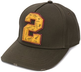 DSQUARED2 Patch-Detail Baseball Cap