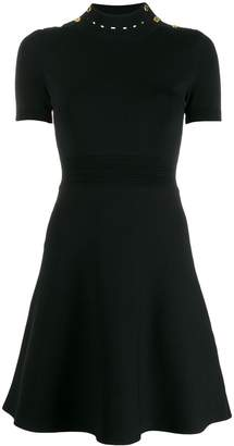 Sandro Paris short-sleeved knit dress