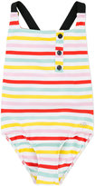 Rykiel Enfant - striped swimsuit - kids - Polyamide/Spandex/Elastane - 8 yrs