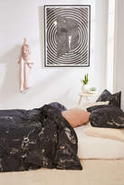 Urban Outfitters Midnight Marble Duvet Cover