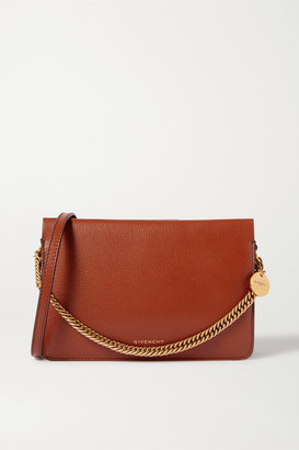 Givenchy Cross 3 Textured-leather And Suede Shoulder Bag - Tan