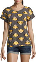 Mighty Fine The Lion King Graphic T-Shirt- Juniors